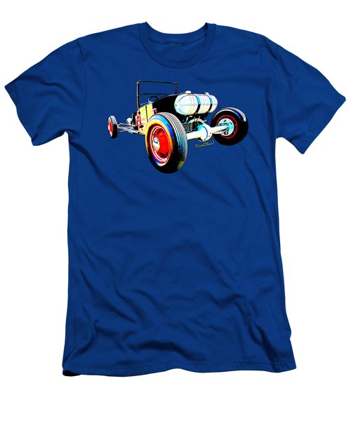 Classic Hot Rod T In A Stormy Sunset Men's T-Shirt (Athletic Fit)