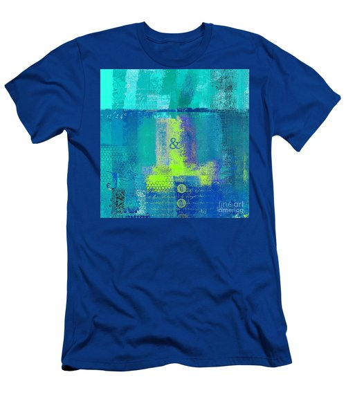 Men's T-Shirt (Slim Fit) featuring the digital art Classico - S03c26 by Variance Collections