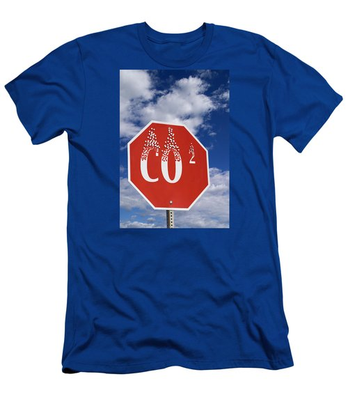 Climate Change Men's T-Shirt (Athletic Fit)