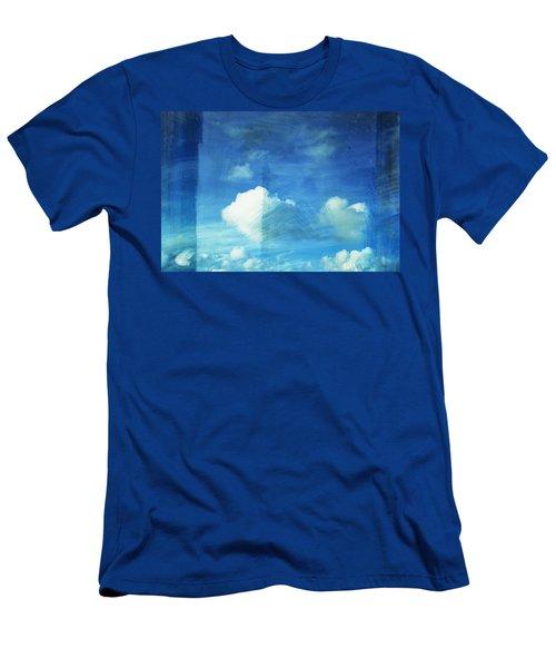 Cloud Painting Men's T-Shirt (Athletic Fit)