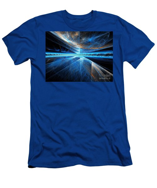 Men's T-Shirt (Athletic Fit) featuring the digital art Clouds Above by Michal Dunaj