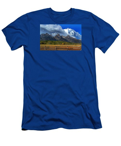 Clouds Rising Men's T-Shirt (Slim Fit) by Diane E Berry