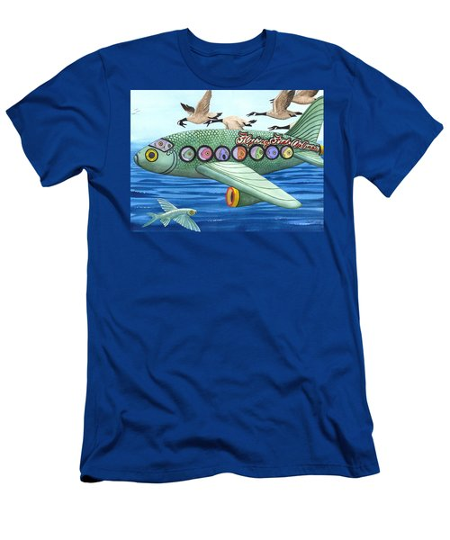 Cod Is My Co-pilot Men's T-Shirt (Athletic Fit)