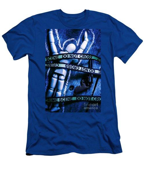 Code Blue Csi Men's T-Shirt (Athletic Fit)