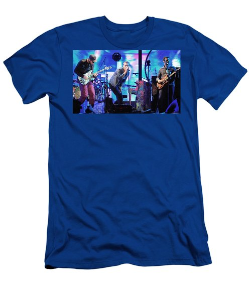 Coldplay7 Men's T-Shirt (Slim Fit) by Rafa Rivas