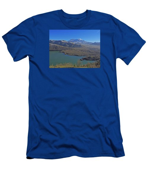 Coldwater Lake Men's T-Shirt (Slim Fit) by Jack Moskovita