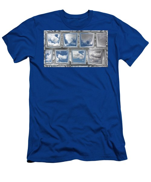 Men's T-Shirt (Athletic Fit) featuring the digital art Collected Spring Mornings by Wendy J St Christopher