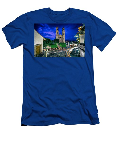 Colonial Town Of Taxco, Mexico Men's T-Shirt (Athletic Fit)