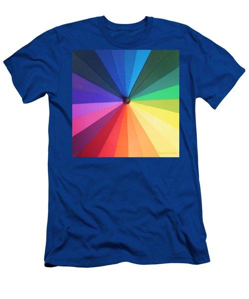 Color Wheel Men's T-Shirt (Athletic Fit)