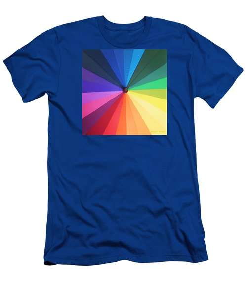 Color Wheel Men's T-Shirt (Athletic Fit)