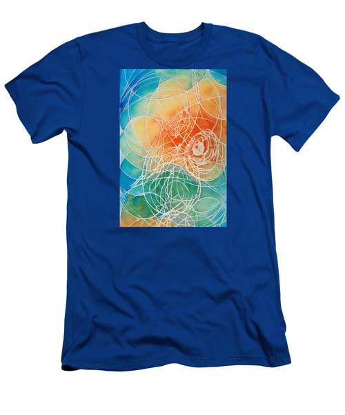 Colorful Art - Color Wash - By Sharon Cummings Men's T-Shirt (Athletic Fit)