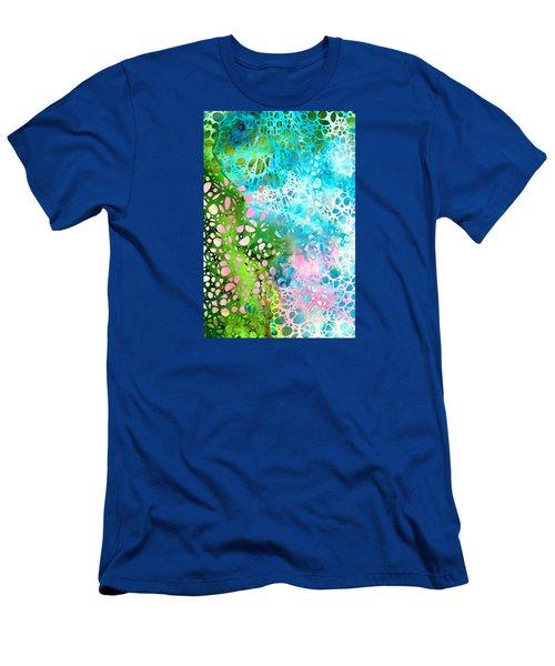 Colorful Art - Enchanting Spring - Sharon Cummings Men's T-Shirt (Athletic Fit)