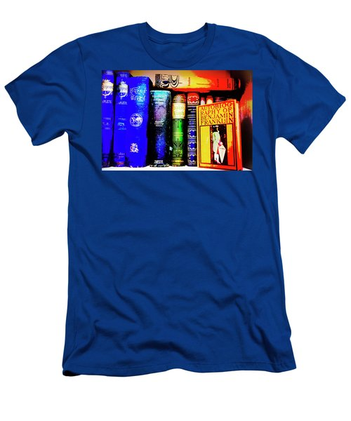 Men's T-Shirt (Slim Fit) featuring the photograph Colorful Classics by Toni Hopper