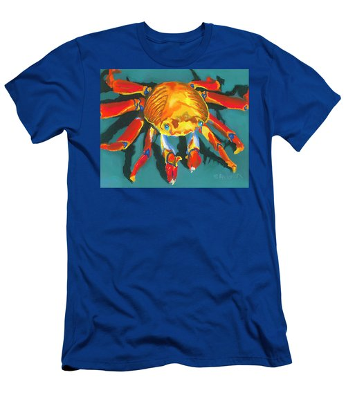 Colorful Crab II Men's T-Shirt (Athletic Fit)