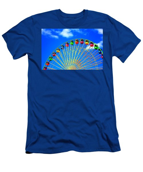 Colorful Ferris Wheel Men's T-Shirt (Athletic Fit)