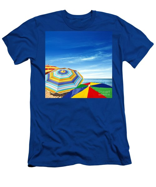 Colorful Sunshades Men's T-Shirt (Athletic Fit)