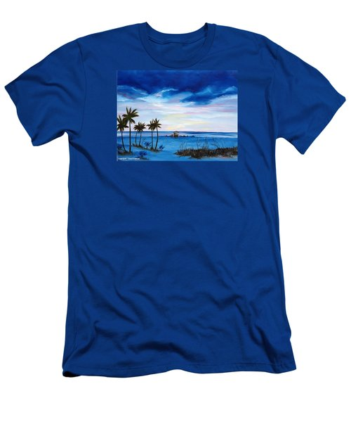 Colors On The Gulf Men's T-Shirt (Slim Fit) by Lloyd Dobson