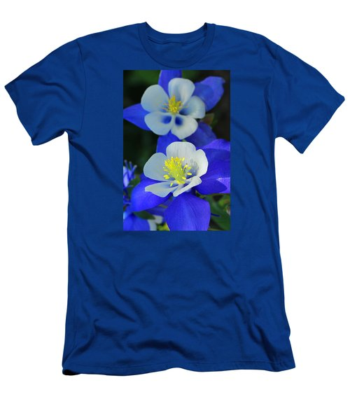 Columbine Day Men's T-Shirt (Slim Fit) by Iryna Goodall