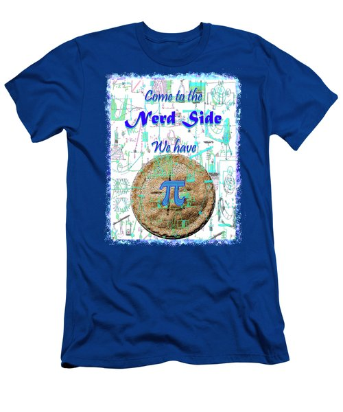 Come To The Nerd Side Men's T-Shirt (Slim Fit) by Michele Avanti