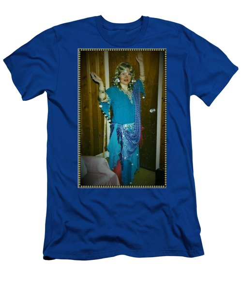 Men's T-Shirt (Athletic Fit) featuring the photograph Come With Me To The Casbah by Denise Fulmer