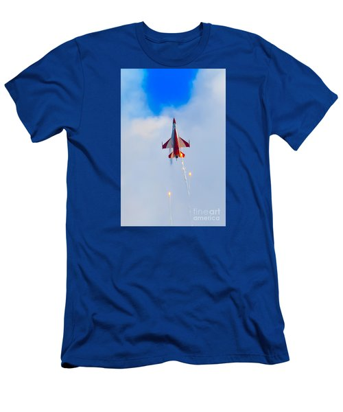 Men's T-Shirt (Athletic Fit) featuring the photograph Constrained by Ray Shiu