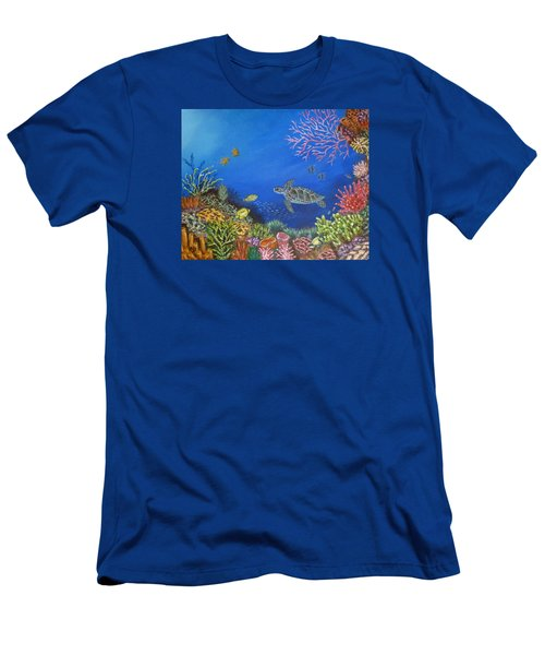 Coral Reef Men's T-Shirt (Athletic Fit)