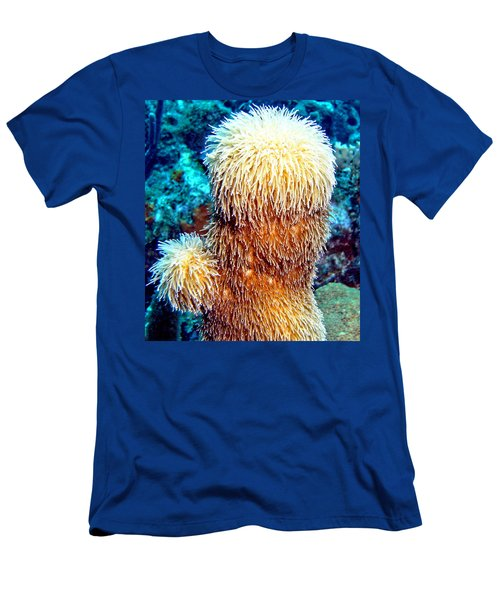 Corky Sea Finger Coral - The Muppet Of The Deep Men's T-Shirt (Slim Fit) by Amy McDaniel