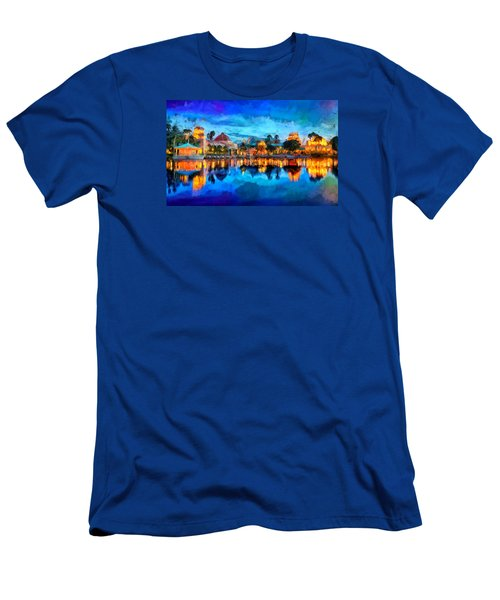 Coronado Springs Resort Men's T-Shirt (Slim Fit) by Caito Junqueira