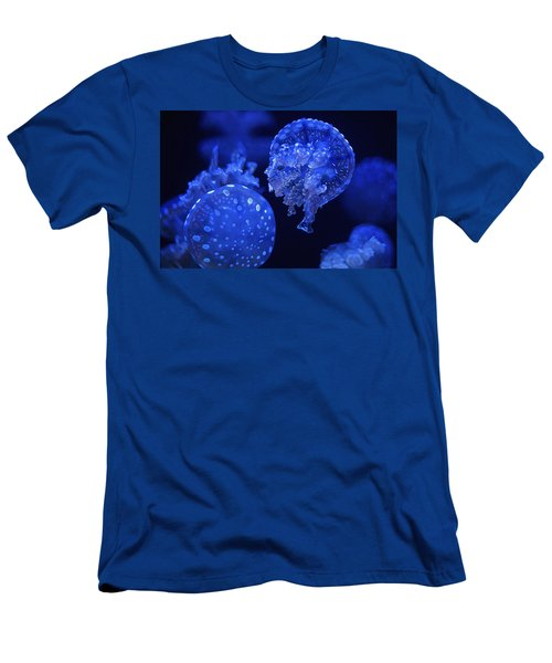 Cosmic Jellyfish 3 Men's T-Shirt (Athletic Fit)