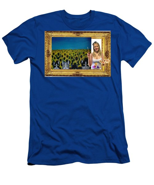 Cover Art For Gallery Men's T-Shirt (Slim Fit) by Diana Riukas