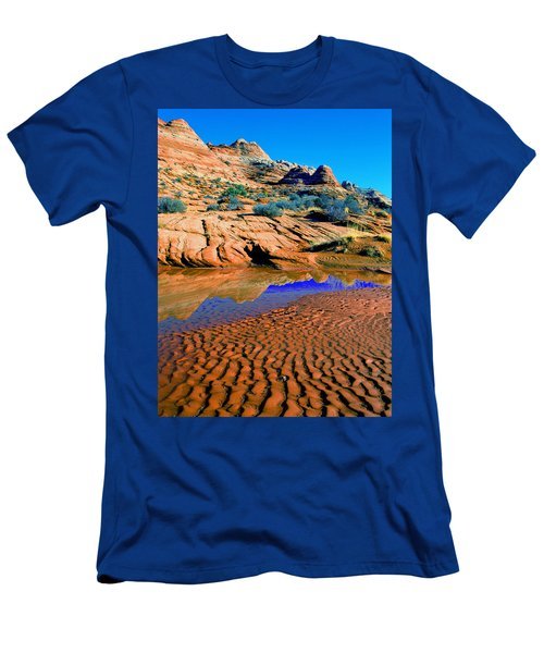 Coyote Buttes Reflection Men's T-Shirt (Athletic Fit)