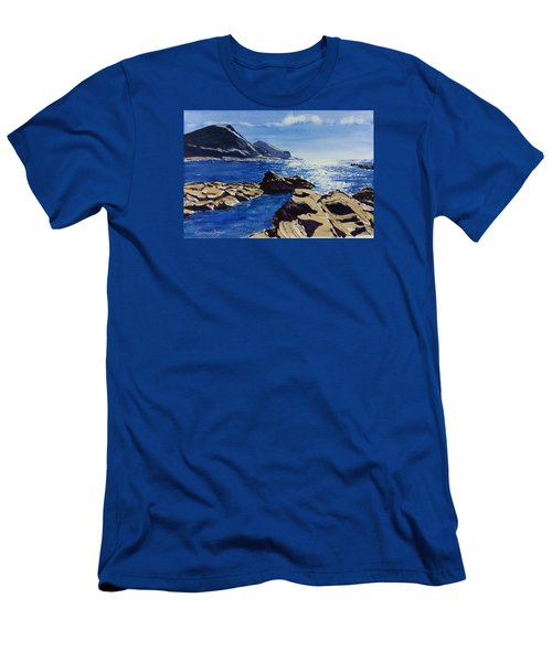 Crackington Haven Sparkle Men's T-Shirt (Athletic Fit)