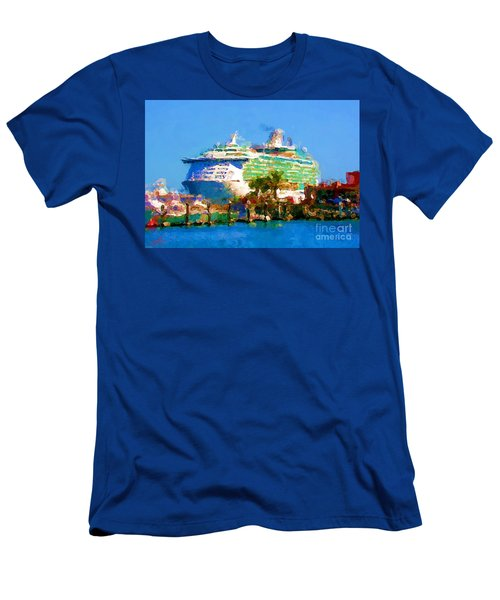 Crucero Cabo Men's T-Shirt (Slim Fit) by Gerhardt Isringhaus