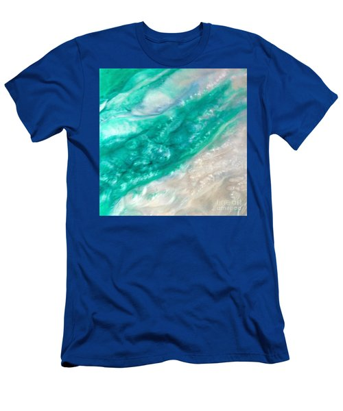 Crystal Wave11 Men's T-Shirt (Athletic Fit)