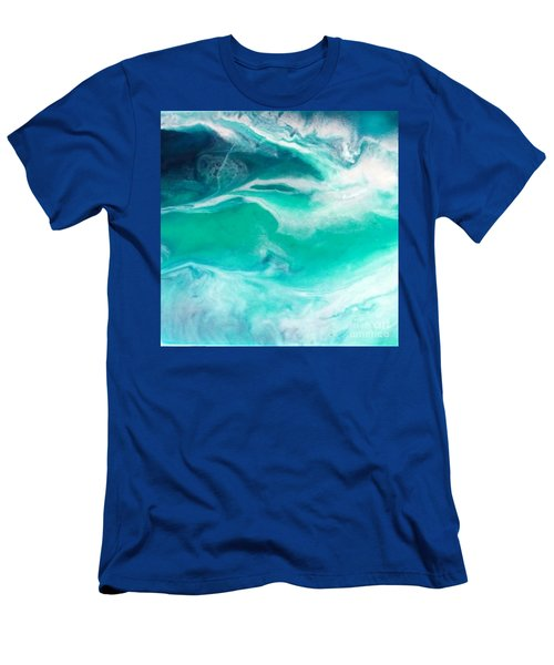 Crystal Wave12 Men's T-Shirt (Athletic Fit)