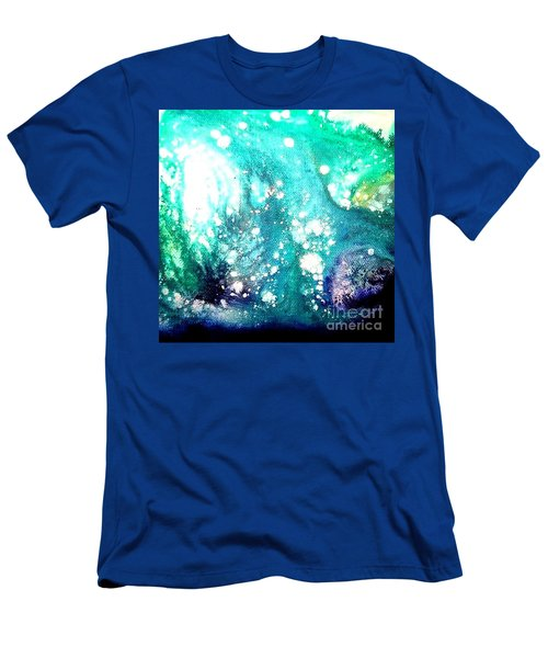 Crystal Wave7 Men's T-Shirt (Athletic Fit)