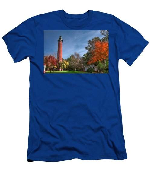 Currituck Lighthouse  Men's T-Shirt (Athletic Fit)
