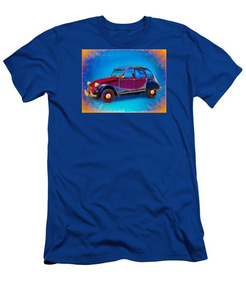 Cute Little Car Men's T-Shirt (Athletic Fit)