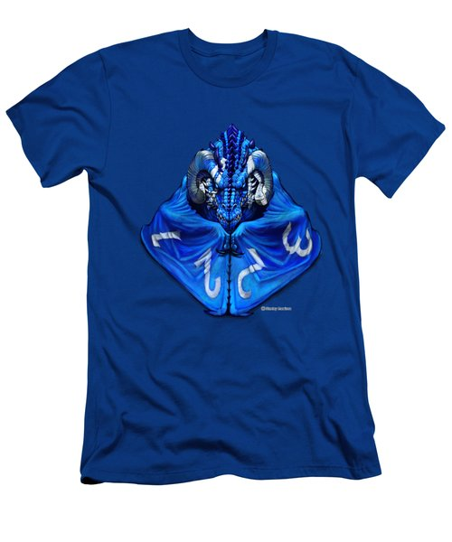 D4 Dragon T-shirt Men's T-Shirt (Athletic Fit)