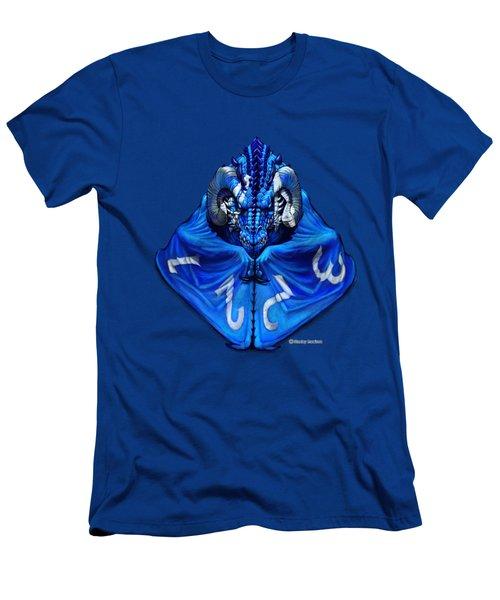 D4 Dragon T-shirt Men's T-Shirt (Athletic Fit)