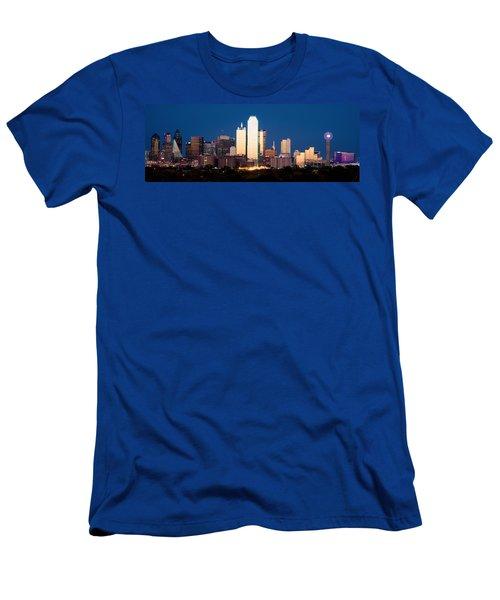 Dallas Golden Pano Men's T-Shirt (Athletic Fit)