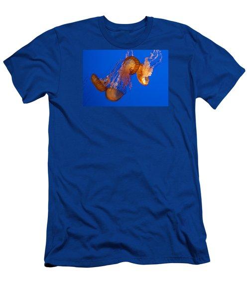 Dancing Sea Nettles Men's T-Shirt (Athletic Fit)