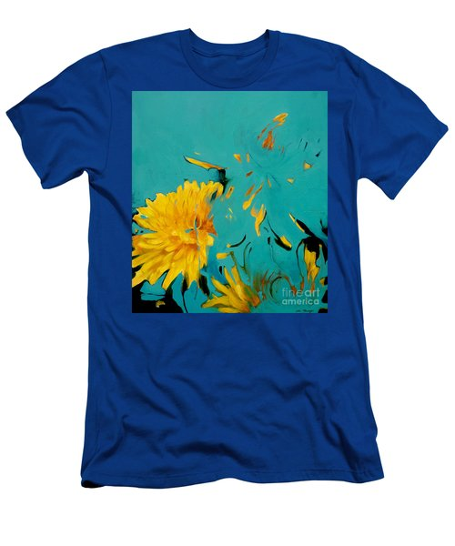 Dandelion Summer Men's T-Shirt (Athletic Fit)