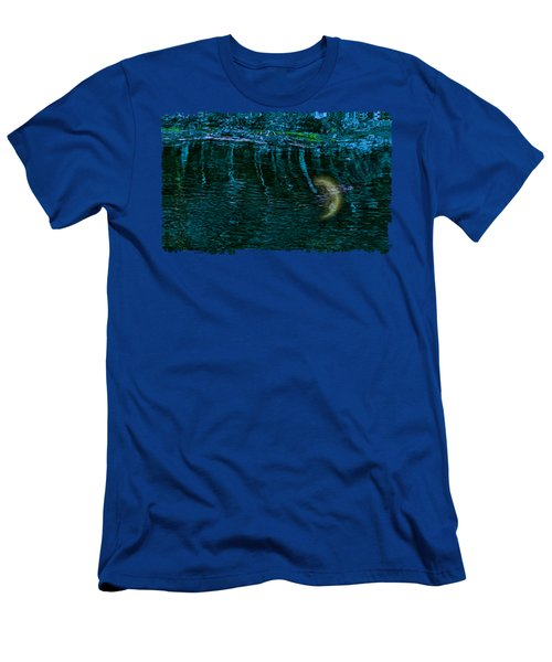 Dark Waters 2 Men's T-Shirt (Slim Fit) by John M Bailey