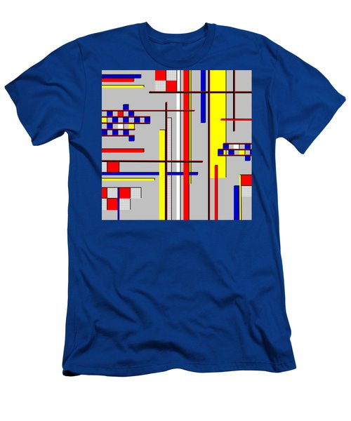 De Stijl Love Men's T-Shirt (Slim Fit) by Tara Hutton