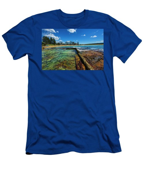 Dee Why Rock Pool Men's T-Shirt (Athletic Fit)