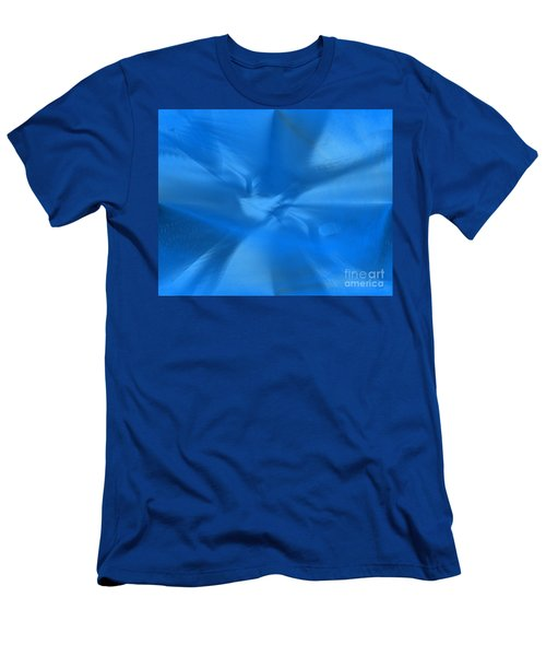 Deep Blue Men's T-Shirt (Slim Fit) by Yul Olaivar