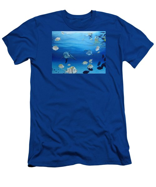 Delphinus Men's T-Shirt (Athletic Fit)