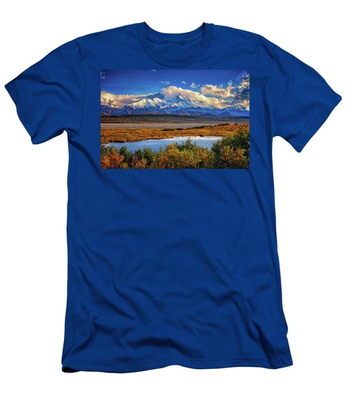Denali, The High One Men's T-Shirt (Athletic Fit)