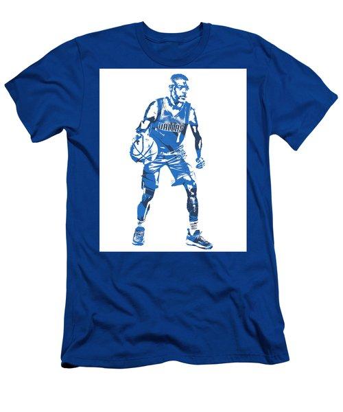 30ef56e9d8b Dennis Smith Jr Dallas Mavericks Pixel Art 5 Men s T-Shirt (Athletic Fit)